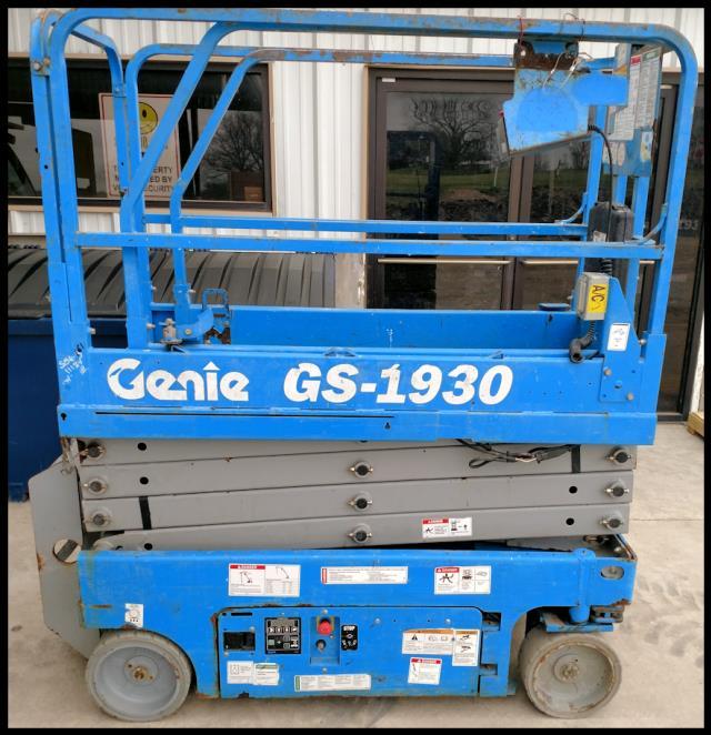 USED 2011 GENIE SCISSOR LIFT GS1930 Sales Austin TX, Where to Buy